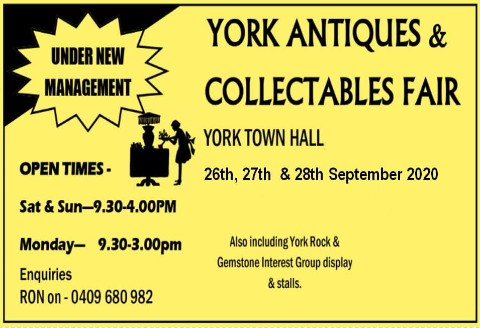 Antiques and Collectables Fair