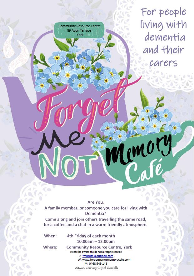 Forget Me Not - Memory Cafe