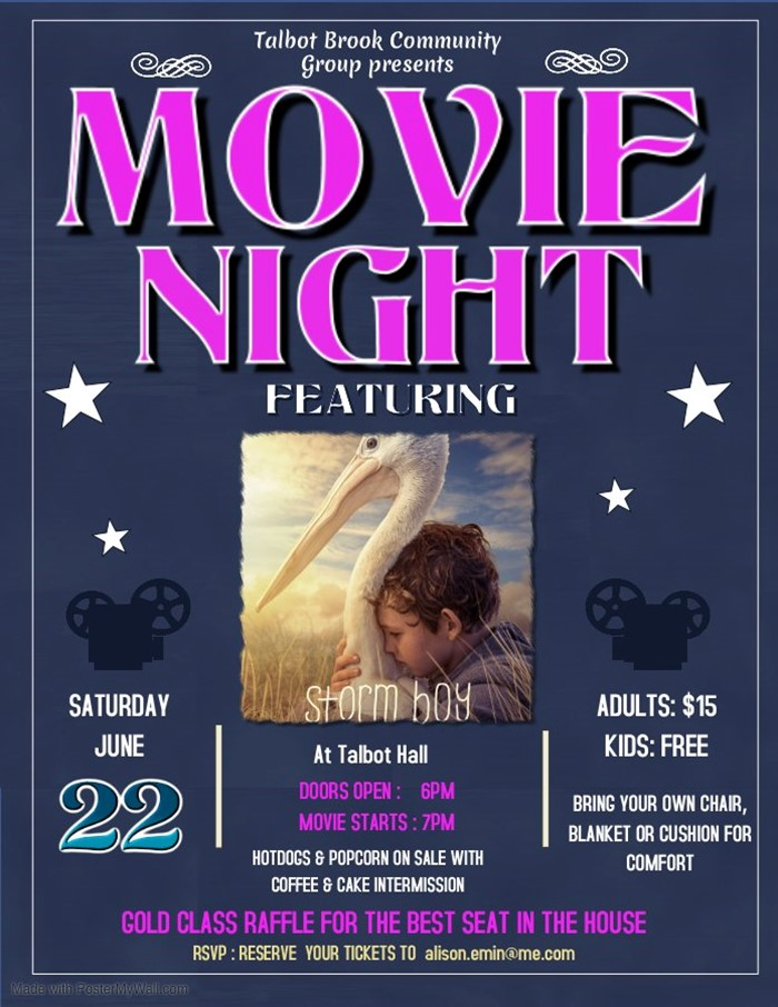 Talbot Hall Movie Night - Storm Boy