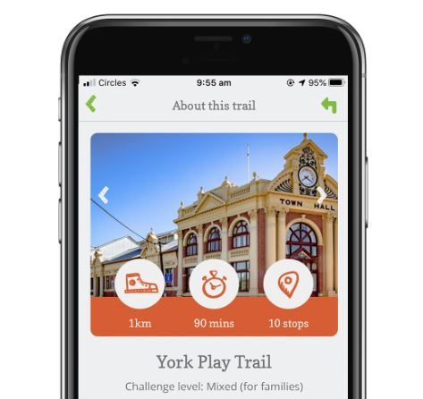 New Nature Play WA Play Trail App launched in York