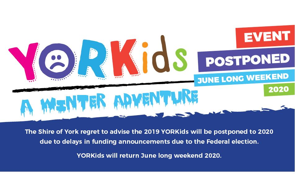 YORKIDS FESTIVAL POSTPONED TO 2020