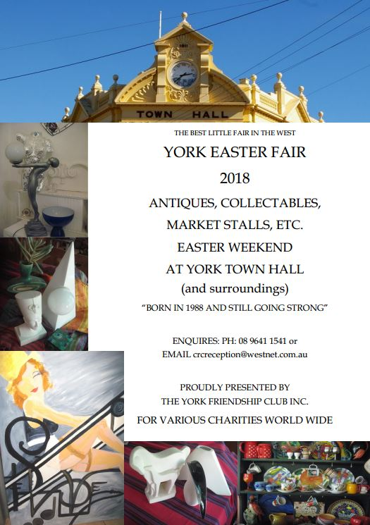 York Easter Fair Markets 2018