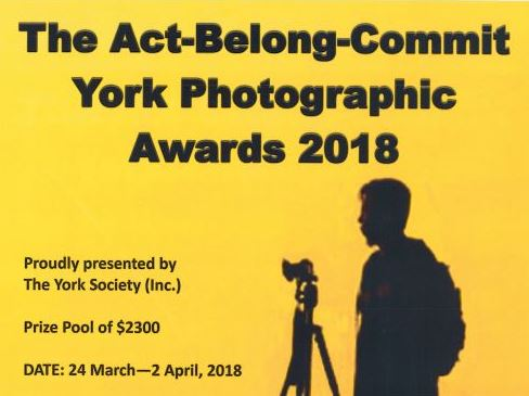 York Photographic Awards 2018