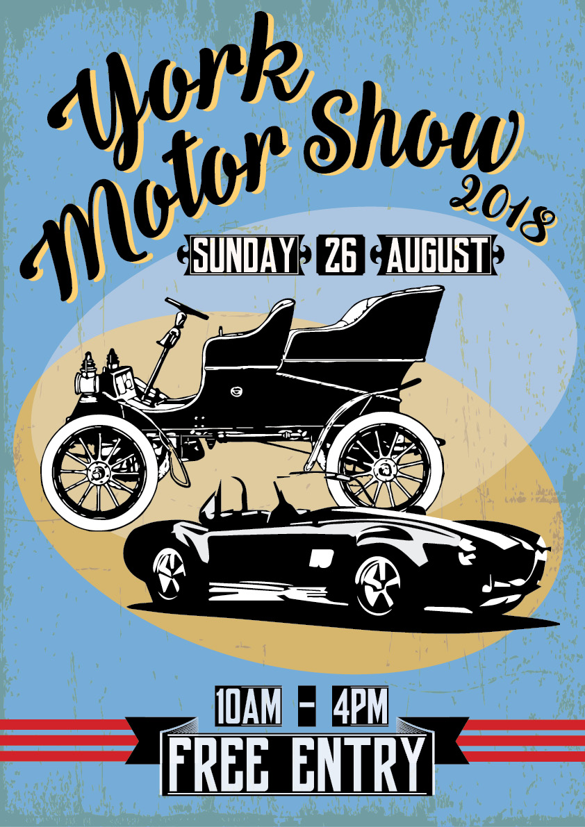 York Motor Show 2018 - Sunday 26 August