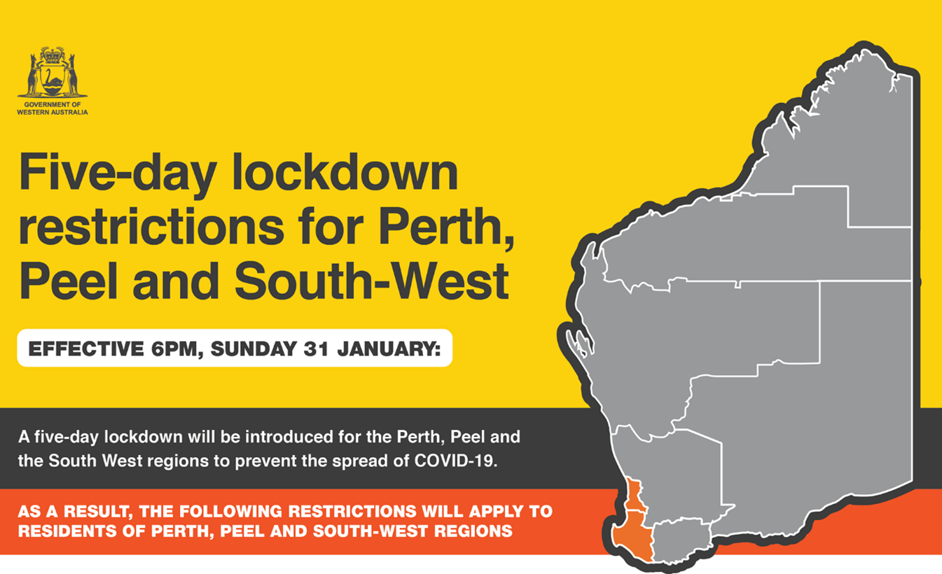 Perth Lockdown - Shire of York Community Information